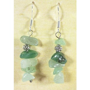 Aventurine Chip Earrings