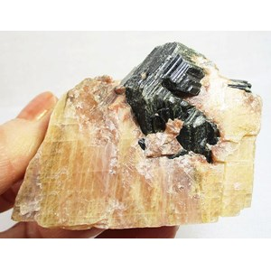 Biotite and Calcite Raw Chunk