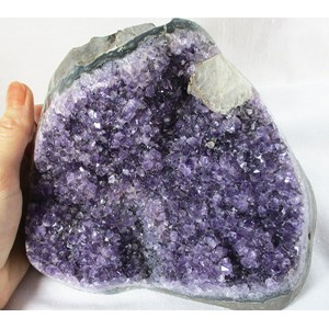 Amethyst Standing Cluster