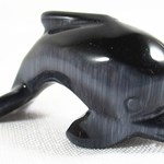 Charcoal Cats Eye Dolphin