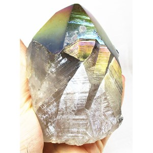 Rainbow Quartz Aura Point (X Large)