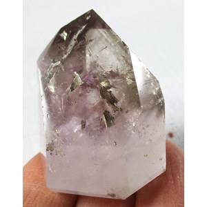 Smoky Amethyst Polished Point