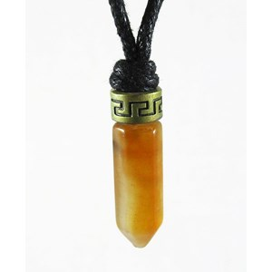 Carnelian Point Necklace
