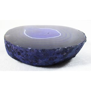 Extra Chunky Purple Agate Coaster