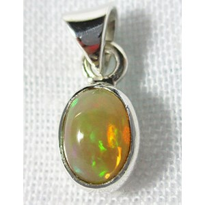 Fire Opal Pendant (Small)