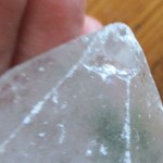 Chlorine Quartz Point - V Rough
