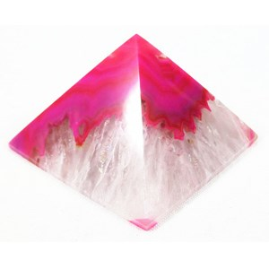 Pink Agate Pyramid (Large)