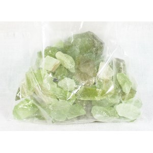 Green Calcite Clearing Bag