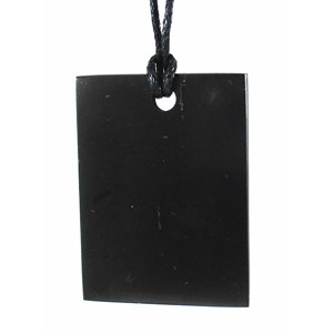 Rectangular Shungite Pendant