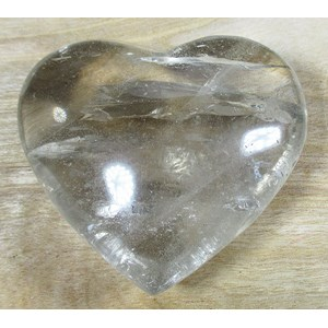 Pale Smoky Quartz Heart