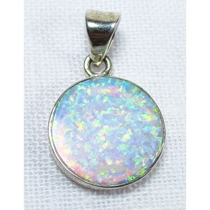 Fire Opal Pendant (Smallish)