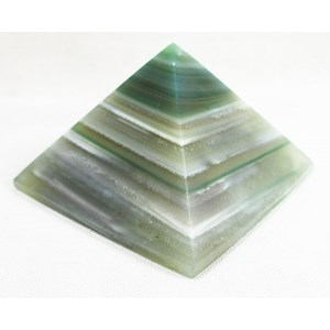 Green Agate Pyramid (Large)