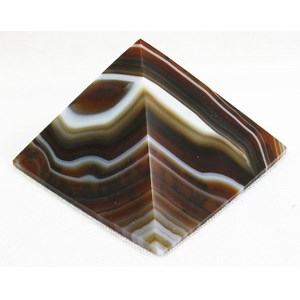 Brown Agate Pyramid (Large)