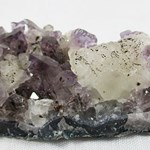 Amethyst and Calcite Cluster (Smallish)