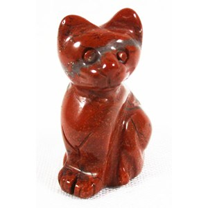 Red Jasper Cat (Small)