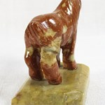 Soapstone Horse on Stand