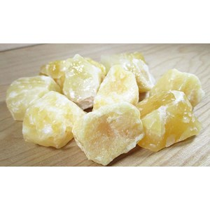 Yellow Calcite Chunk x 1