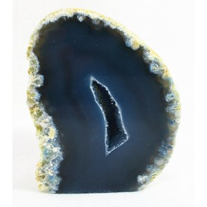 Blue Agate Standing Geode